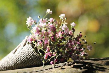 Étiquette pour l'envoi de fleurs à un enterrement