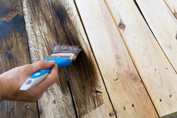 Couleurs de teinture pour bois de pin