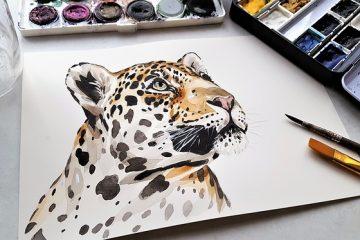Comment peindre une rivière à l'aquarelle