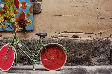 Comment peindre les roues de bicyclette