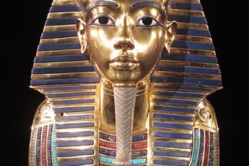 Quelles décorations étaient sur un sarcophage égyptien ?