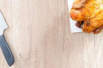 Poitrine de poulet cuite au four avec chapelure