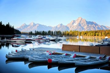 Casiers de rangement pour kayak faits maison