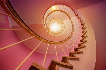 Comment faire des escaliers courbes