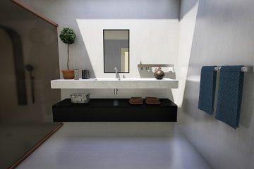 Types de robinets de salle de bains