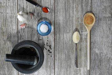 Comment manger des graines de moutarde non cuites