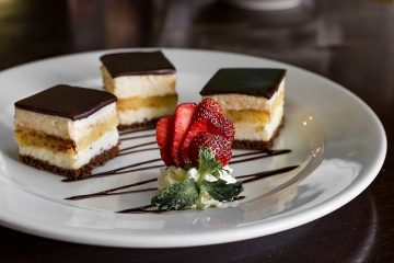 Idées de garniture de dessert