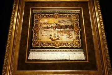 Comment accrocher un tapis persan sur un mur