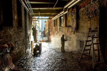 Comment laver les murs peints sans déranger le travail de peinture