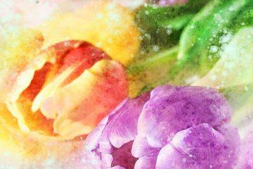 Vase à fleurs idées de lumières pour les mariages
