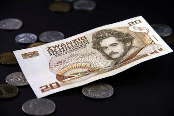 Combien vaut une pièce de deux shillings de 1956 ?