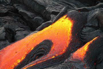 Les effets de l'éruption du Mauna Loa en 1984