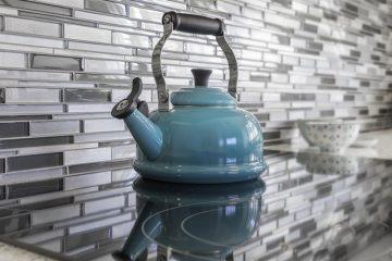 Idées de conception de cuisine pour un dosseret de tuile