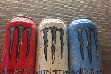 Ingrédients dans les boissons énergisantes Monster