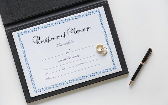 Comment obtenir une copie d'un certificat de mariage au Royaume-Uni